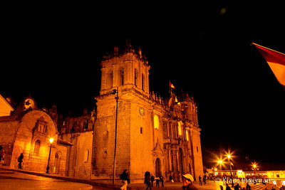 Cathedral at Cusco, Peru