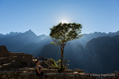 Sunrise at Macchu Pichu